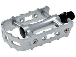 Pedali MTB BRN Silver Alluminio