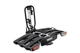 Portabici Gancio Traino EasyFold XT 3 Bici Alluminio Nero
