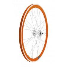 Ruote Fixed RMS raggi 36 profilo 40mm Arancio