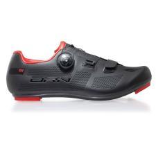 Scarpe Bici Corsa BRN RX Road Nero Rosse