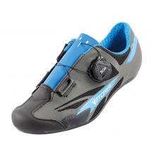 Scarpe Bici Corsa Vittoria Kid Boa Nero Blu