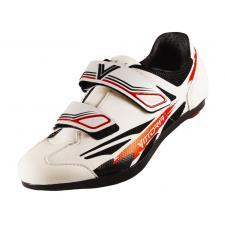 Scarpe Bici Corsa Vittoria Kid Road Bianco Rosso