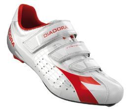 Scarpe Mtb Diadora Trivex  Argento Bianco Rosso