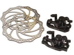 Serie Freni Disco Alhonga meccanici con dischi diametro 160-180