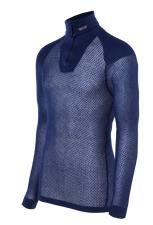 Super Thermo Zip Polo M-Innlegg Blu