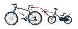 """Traino bici Pieghevole Gist Trail Angel per bici Bambino dal 12"""" al 20"""""""