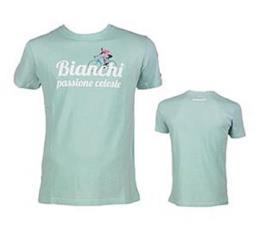 T-shirt Bianchi Passione Celeste Vintage Celeste